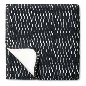 Vimma Baby blanket KARIM braid black-white 1x1 m - 1x1 m, Baby blanket, black-white, braid, KARIM