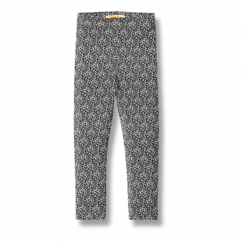 Vimma leggins ELO Leopardi black-white 80-150cm - 80-150cm, black-white, ELO, leggins, Leopardi
