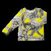 Vimma Long-Sleeve Shirt PAU letti dark yellow 80-140cm - 80-140cm, braid, dark yellow, Long-Sleeve Shirt, PAU