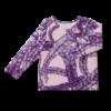 Vimma Long-Sleeve Shirt PAU Letti purple 80-140cm - 80-140cm, braid, Long-Sleeve Shirt, PAU, purple