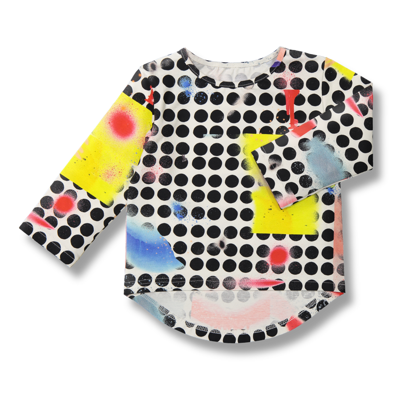 Vimma Long sleeved UTU Dots colorful 80-140cm - 80-140cm, colorful, Dots, Long sleeved, UTU