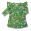 Vimma Ruffle Dress JULIA Muisto green 90-140cm - 90-140cm, green, JULIA, Muisto, Ruffle Dress