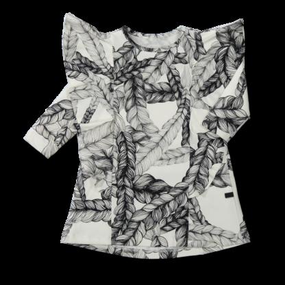 Vimma Ruffle Dress JULIA Letti black-white 90-140cm - 90-140cm, black-white, braid, JULIA, Ruffle Dress
