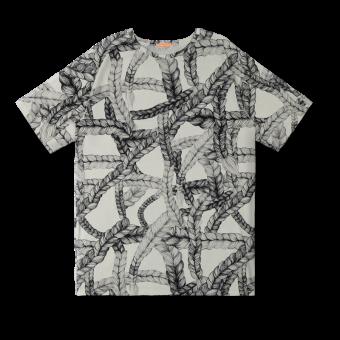 Vimma T-shirt Unisex RAUHA letti black-white Onesize - black-white, braid, Onesize, RAUHA, T-shirt / Unisex
