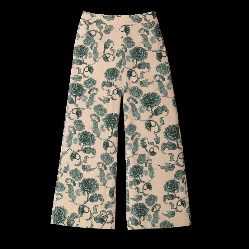 Vimma trousers ILONA Leopardi black-white S-L - black-white, ILONA, Leopardi, S-L, trousers