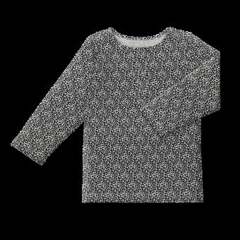 Vimma Snapper shirt OLA Leopardi black-white 80-140cm - 80-140cm, black-white, Leopardi, OLA, Snapper shirt