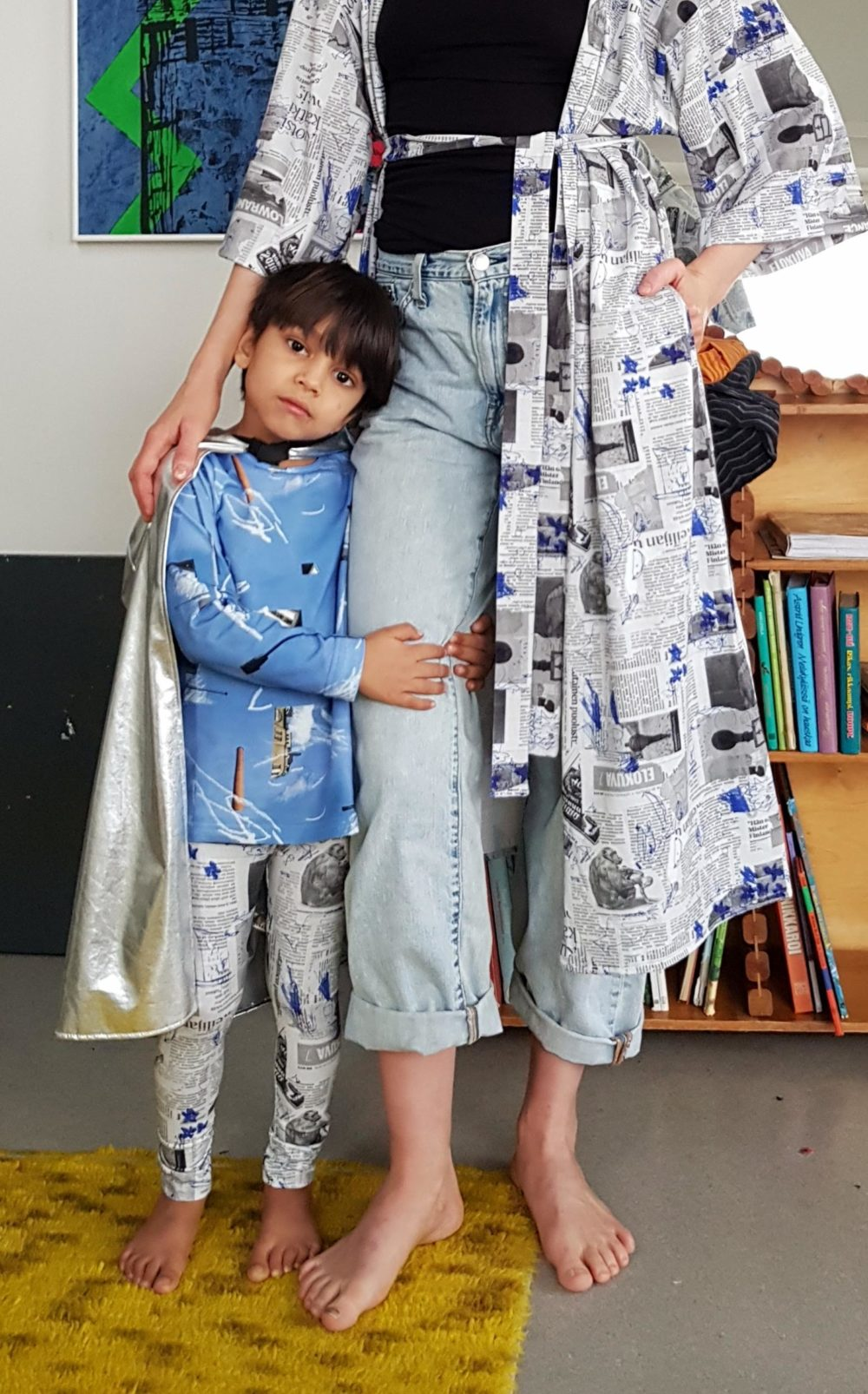 Vimma Long-Sleeve Shirt PAU liikennemerkki sininen 80-140cm - 80-140cm, blue, liikennemerkki, Long-Sleeve Shirt, PAU
