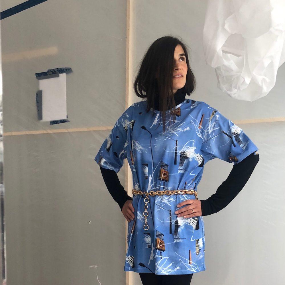 Vimma T-shirt Unisex RAUHA Liikennemerkit sininen Onesize - blue, Liikennemerkit, Onesize, RAUHA, T-shirt / Unisex