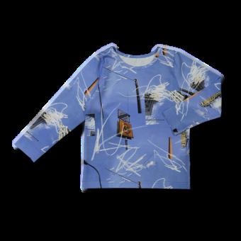 Vimma Long-Sleeve Shirt PAU liikennemerkki sininen 80-140cm - 80-140cm, liikennemerkki, Long-Sleeve Shirt, PAU, sininen