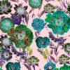 Vimma Cotton textile Wild Flowers pink Jersey - Cotton textile, Jersey, pink, Wild Flowers