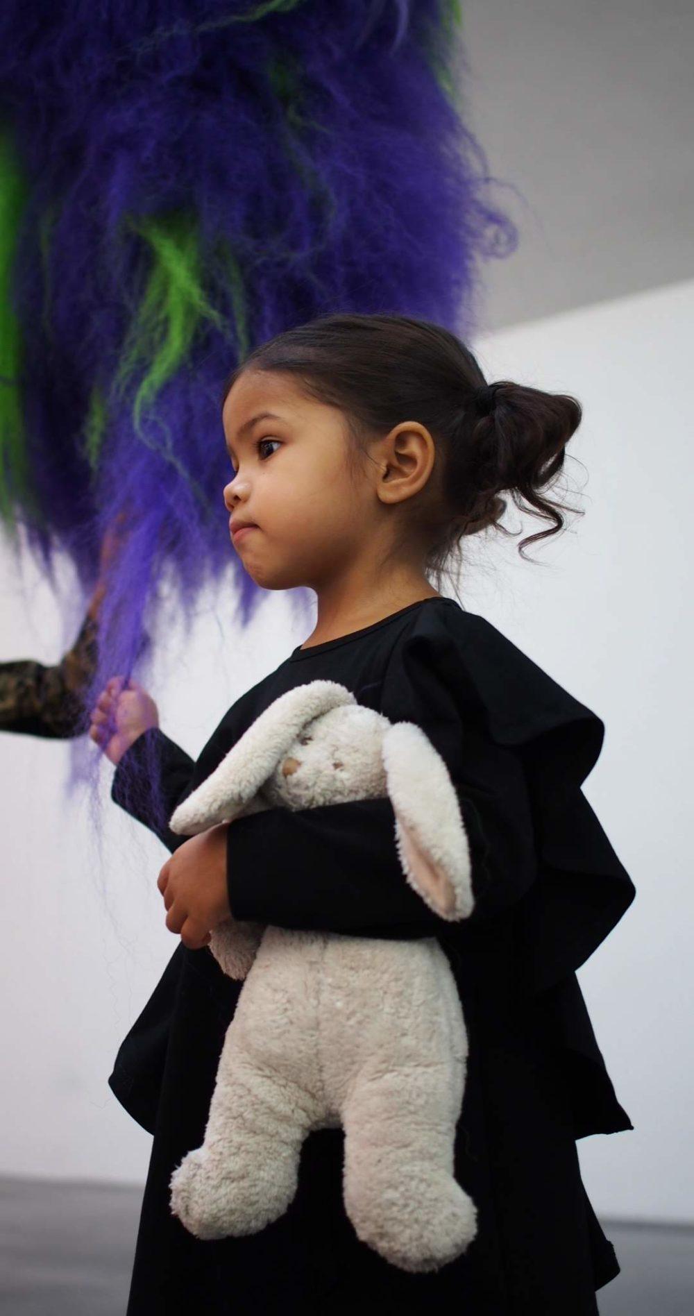 Vimma Ruffle Dress JULIA yksivärinen musta 90-150cm - (Musta), 90-150cm, JULIA, Ruffle Dress, yksivärinen