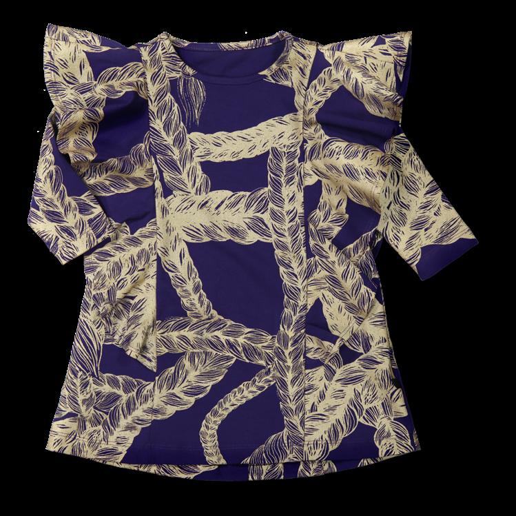 Vimma Ruffle Dress JULIA TEMPLATE TEMPLATE 90-140cm - 90-140cm, JULIA, Ruffle Dress, TEMPLATE
