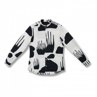 Vimma Shirt ROOPE Terrain black-white XS-L - black-white, ROOPE, Shirt, Terrain, XS-L