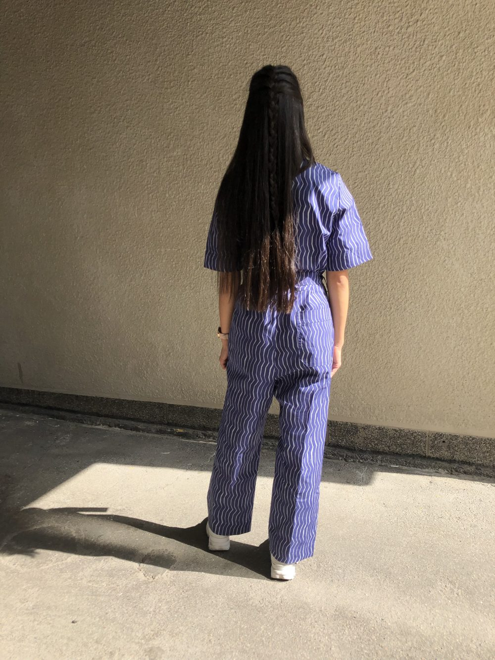 Vimma Jumpsuit HARRI one-colored dark blue S-L - dark blue, HARRI, Jumpsuit, one-colored, S-L