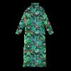 Vimma Polo neck dress KARLA Jungle green-colourful S-M - green-colourful, Jungle, KARLA, Polo neck dress, S-M