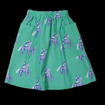 Vimma Skirt Auno Unicorns forever turkoosi-lila 100-140 cm - 100-140 cm, Auno, Skirt, turkoosi-lila, Unicorns forever