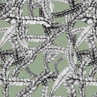 Vimma Cotton textile Kasvistiikeri ruskea joustocollege - Cotton textile, joustocollege, Kasvistiikeri, ruskea