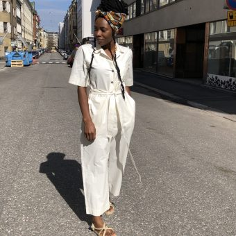 Vimma UUTTA Jumpsuit HARRI one-colored white S-L - HARRI, one-colored, S-L, UUTTA Jumpsuit, white