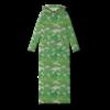 Vimma Hooded maxi dress PINJA siellä jossain green S-M - green, Hooded maxi dress, PINJA, S-M, siellä jossain