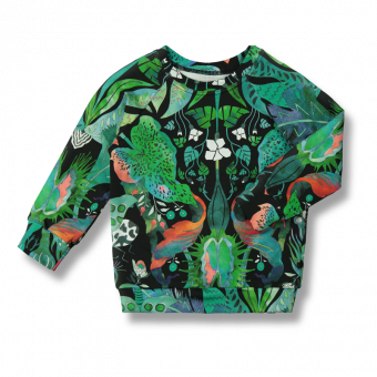 Vimma sweatshirt RIA Jungle green 80-150 cm - 80-150 cm, green, Jungle, RIA, sweatshirt