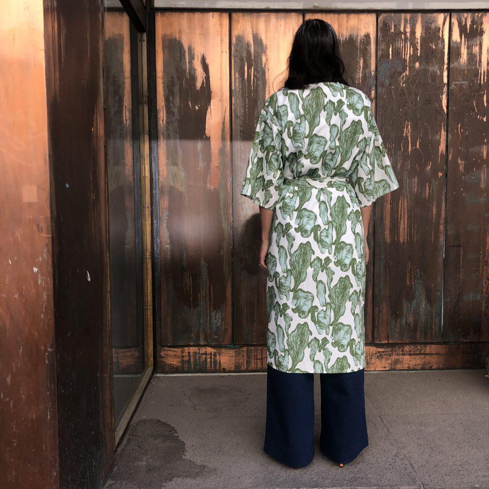 Vimma Kaftan ELSA Shrooms white-green Onesize - ELSA, Kaftan, Onesize, Shrooms, white-green