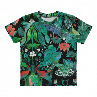 Vimma t-shirt LIU jungle green 80-140cm - 80-140cm, jungle green, LIU, t-shirt