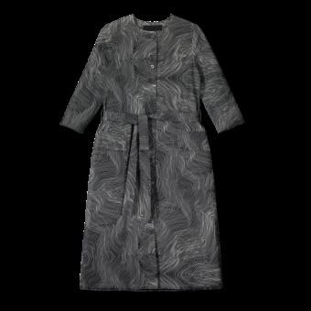 Vimma Dress LILJA raita musta-valkoinen XS-L - black-white, Dress, LILJA, raita, XS-L