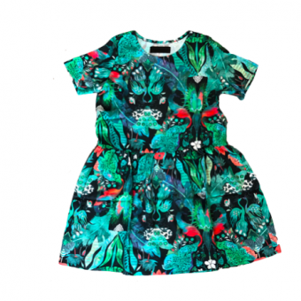 Vimma Tunic dress KUKKA Jungle green XS-L - green, Jungle, KUKKA, tunic-dress, XS-L