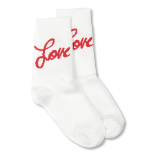 Vimma Socks love white-red 33-41 - 33-41, love, Socks, white-red