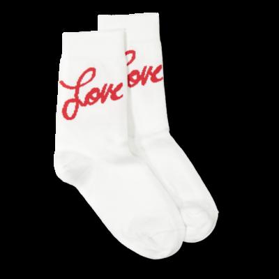 Vimma Socks love white-red 33-41 - 33-41, love, Socks, white-red