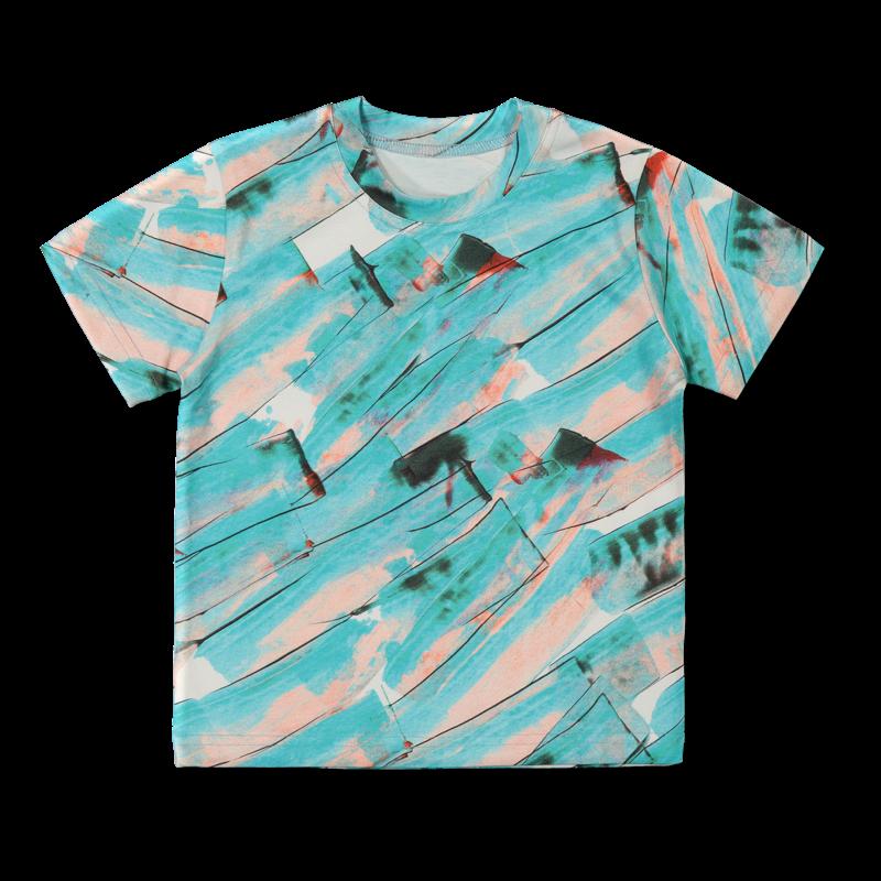 Vimma t-shirt LIU Aoi mint 80-140cm - 80-140cm, Aoi, LIU, mint, t-shirt