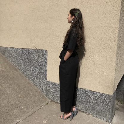 Vimma UUTTA Jumpsuit HARRI one-colored black S-L - black, HARRI, one-colored, S-L, UUTTA Jumpsuit