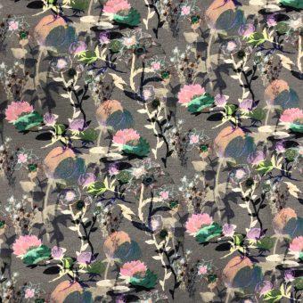Vimma puuvillaneulos yökukka black-colorful Jersey - black-colorful, Jersey, puuvillaneulos, yökukka