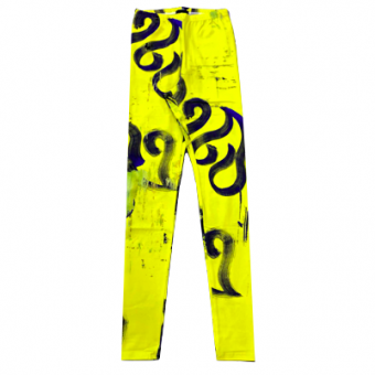 Vimma leggings KAINO Kuiskaus bright yellow XS-XL - bright yellow, KAINO, KUISKAUS, leggings, XS-XL