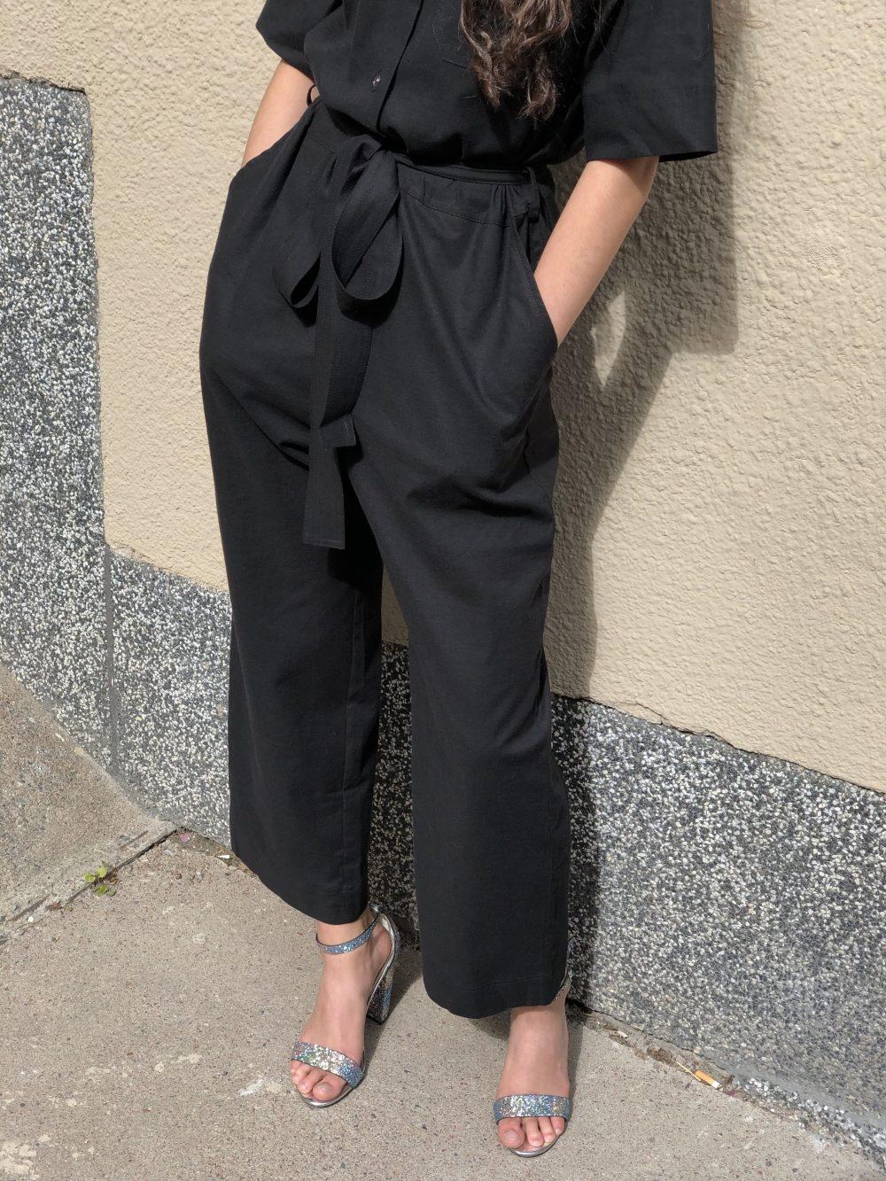 Vimma UUTTA Jumpsuit HARRI one-colored black S-L - black, HARRI, one-colored, S-L, UUTTA Jumpsuit