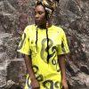 Vimma t-shirt RAUNI Kuiskaus bright yellow one size - bright yellow, KUISKAUS, one size, RAUNI, t-shirt