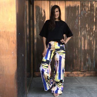 Vimma trousers ILONA Riemu new colorful XS-L - colorful, ILONA, riemu new, trousers, XS-L