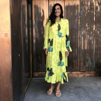 Vimma UUTTA Frilla dress TUUVA Ilta Verannalla lilac XS-L - Ilta Verannalla, lilac, TUUVA, UUTTA Frilla dress, XS-L