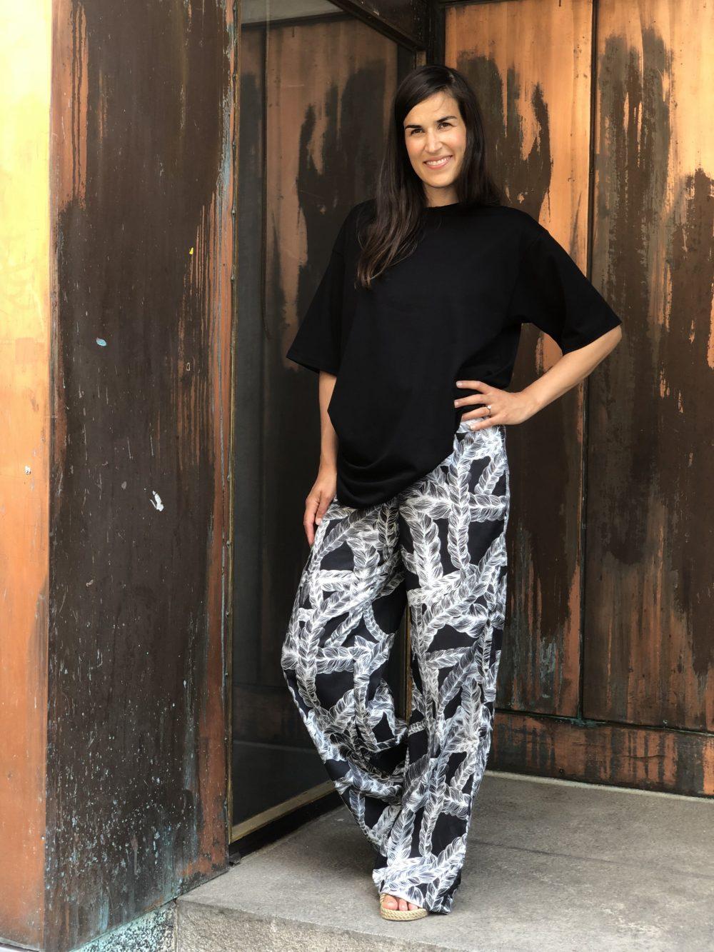 Vimma trousers ILONA Letti black XS-L - black, ILONA, letti, trousers, XS-L