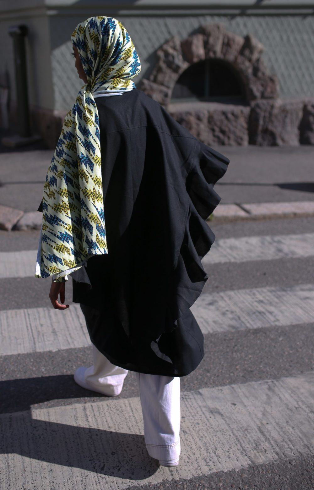 Vimma Polo neck dress KARLA Neilikat colorful S-M - colorful, KARLA, Neilikat, Polo neck dress, S-M