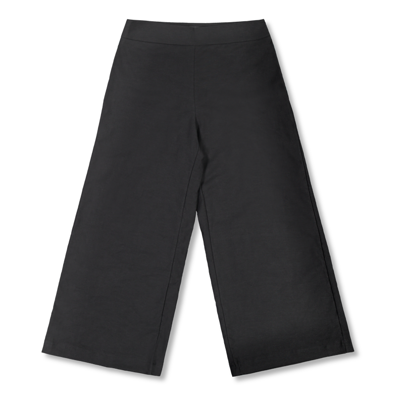 Vimma Culottes ILONA II One-colored black XS-L - black, Culottes, ILONA II, one-colored, XS-L