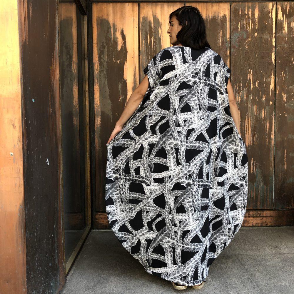 Vimma Dress Stiina braid black XS-L - black, braid, Dress, Stiina, XS-L