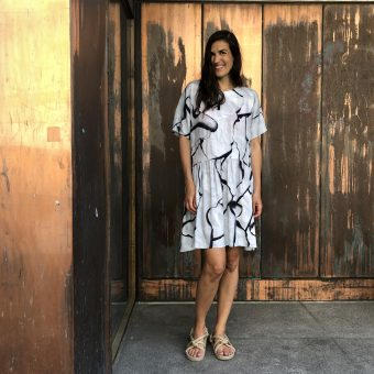 Vimma Tunic dress KUKKA Burned grey XS-L - Burned, grey, KUKKA, tunic-dress, XS-L