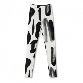 Vimma leggings KAINO Blurri black-white XS-XL - black-white, blurri, KAINO, leggings, XS-XL