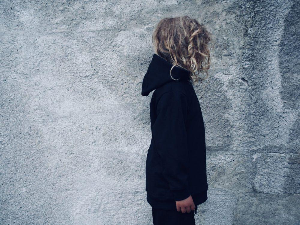 Vimma hoodie Lenni one-colored black 90-160 cm - 90-160 cm, black, hoodie, Lenni, one-colored