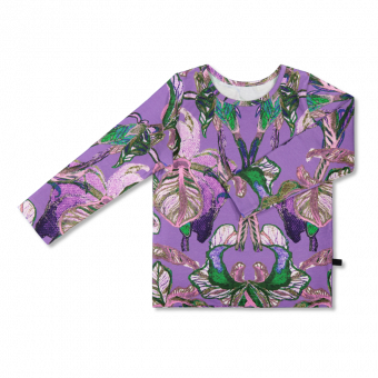 Vimma Long-Sleeve Shirt PAU Ilta Verannalla lilac 80-140 cm - 80-140 cm, Ilta Verannalla, lilac, Long-Sleeve Shirt, PAU