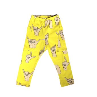 Vimma College pants LASSI play yellow 100-140cm - 100-140cm, College pants, LASSI, play, yellow