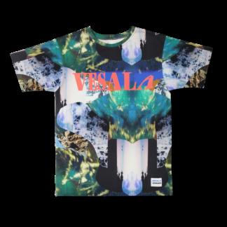Vimma VIMMA X VESALA t-shirt RAUNI Mystic wood placement dark one size - dark, Mystic wood placement, one size, RAUNI, VIMMA X VESALA t-shirt