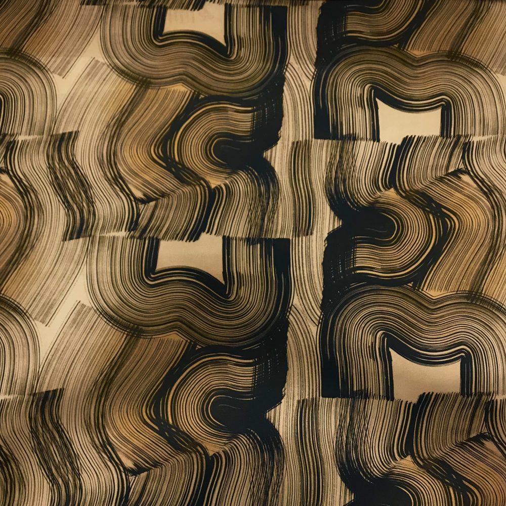 Vimma Cotton textile Veto brown Vowen cotton - brown, Cotton textile, Veto, Vowen cotton