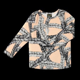 Vimma Long-Sleeve Shirt PAU letti persikka 80-140 cm - 80-140 cm, braid, Long-Sleeve Shirt, PAU, persikka